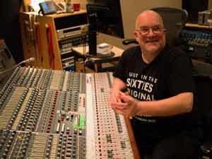 Photo of Tony working in Snap! studios London